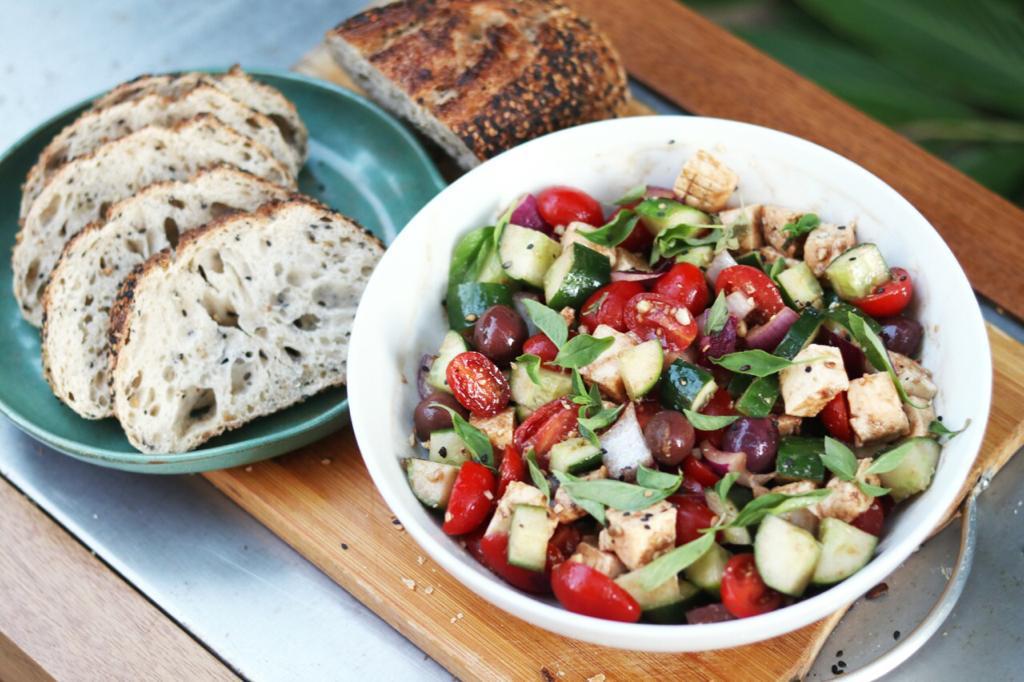 Salada Grega!
