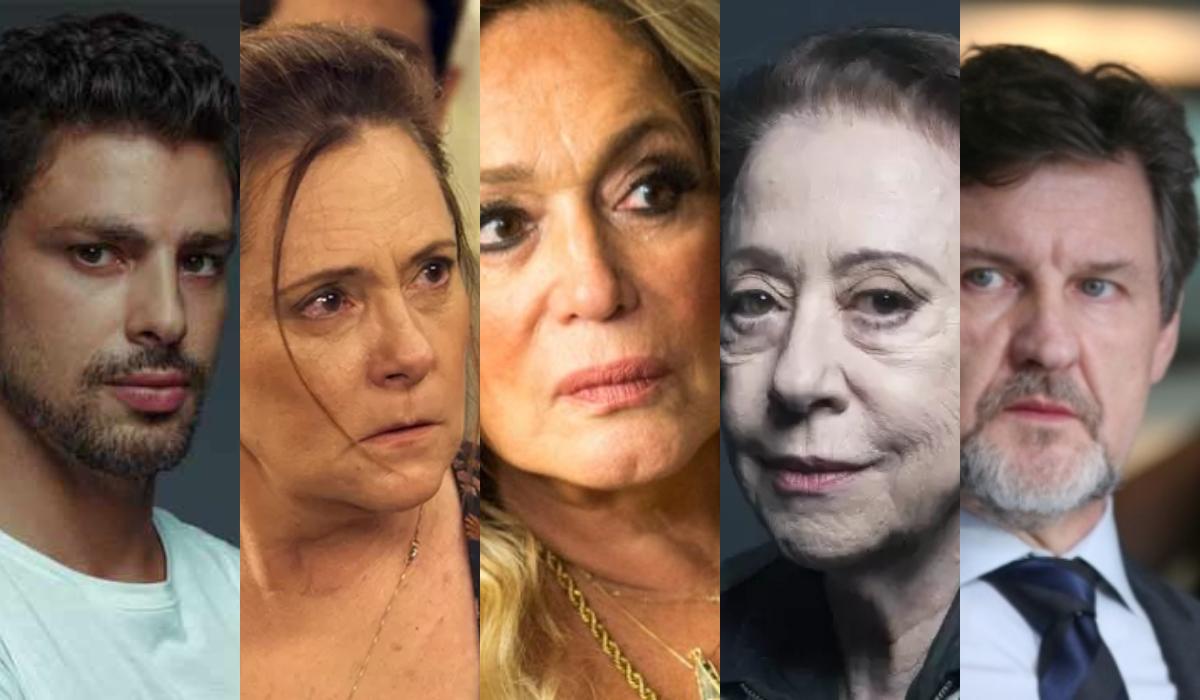 Globo dispensa Susana Vieira, Cauã Reymond, Elizabeth Savalla ...