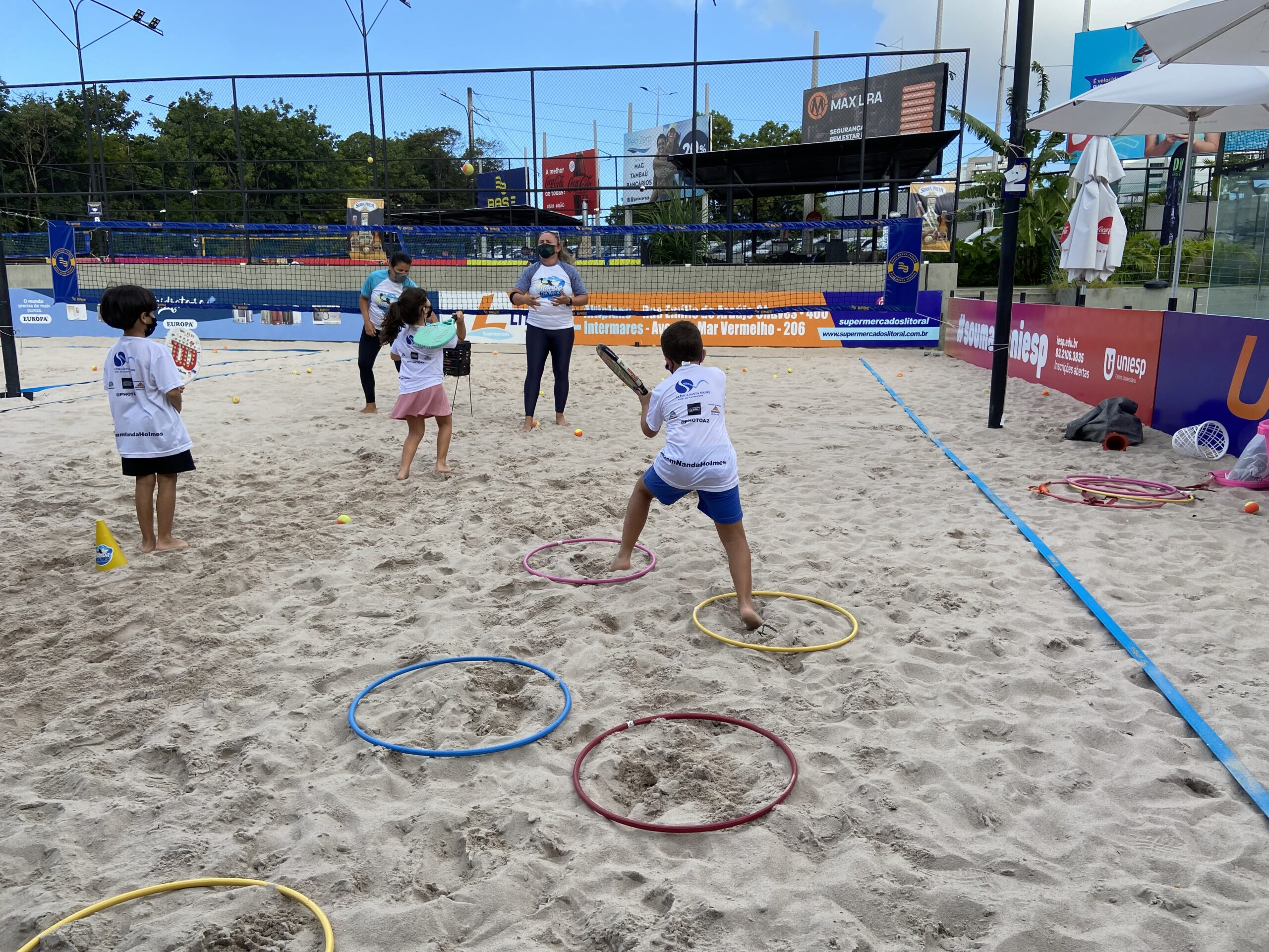 Paraíba sedia 1º torneio de beach tennis para crianças