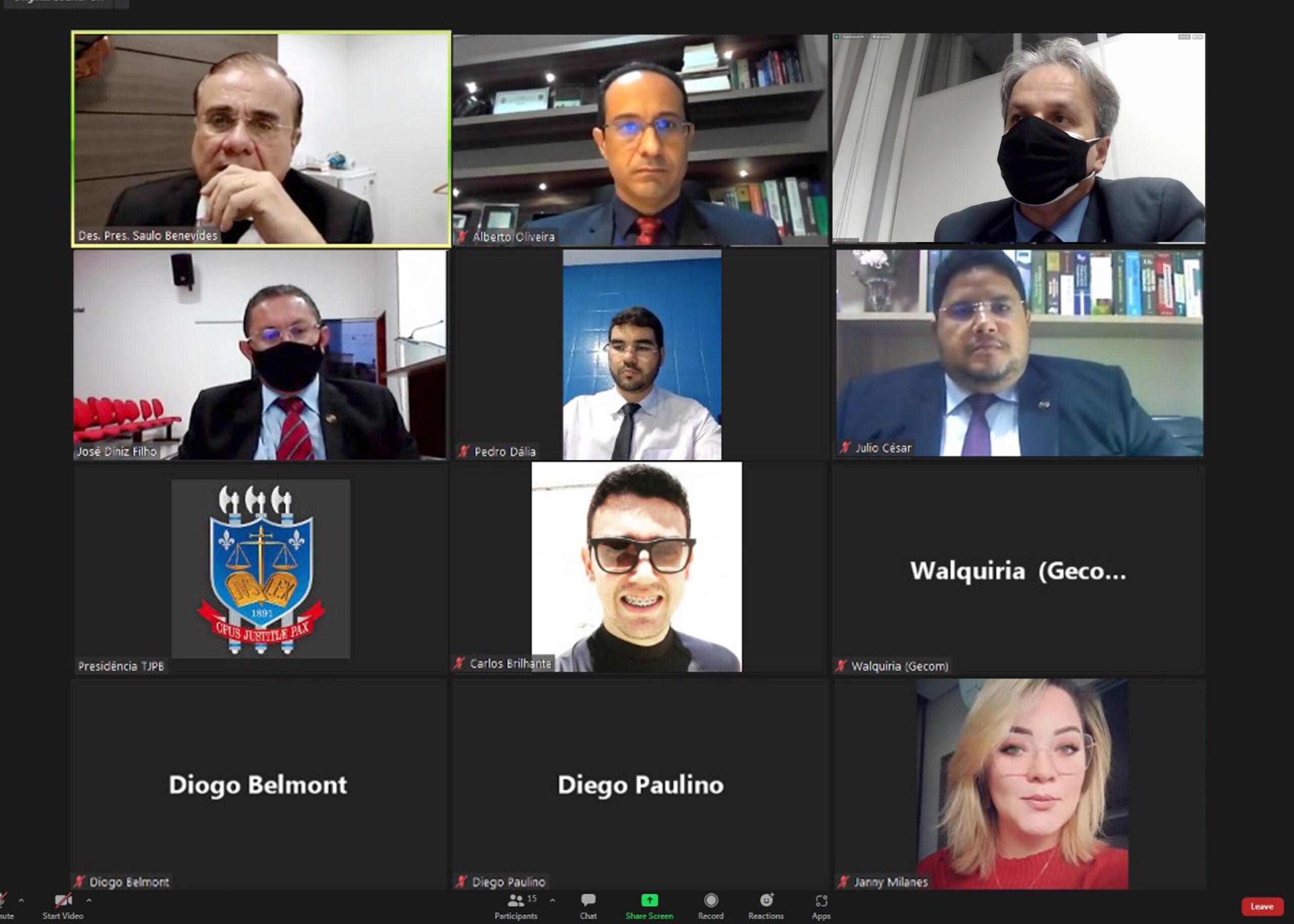 Presidente do TJPBconversa com advogados do Brejo paraibano